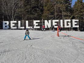 Ski Belle-Neige – Journée plein soleil – 9 janvier 2020