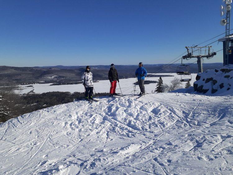 Ski La Réserve – Une vraie journée d'hiver – 31 janvier 2021