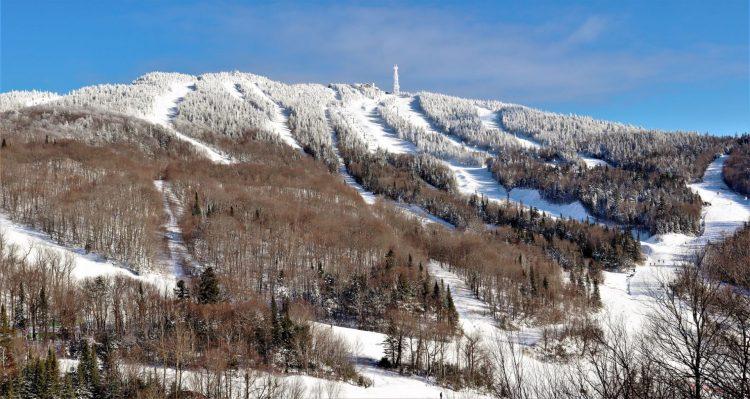 Mont Tremblant  Une autre grosse journée 2 janvier 2021