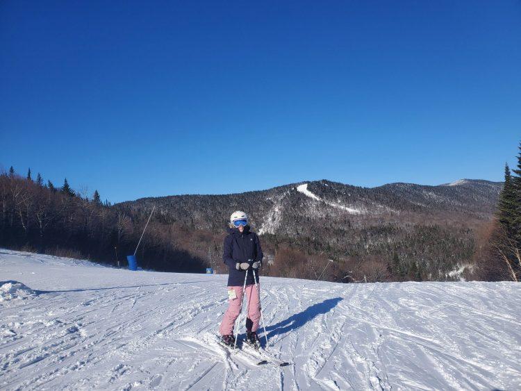 Jeudi OFF au boulot pour skier à Tremblant avec une météo parfaite!