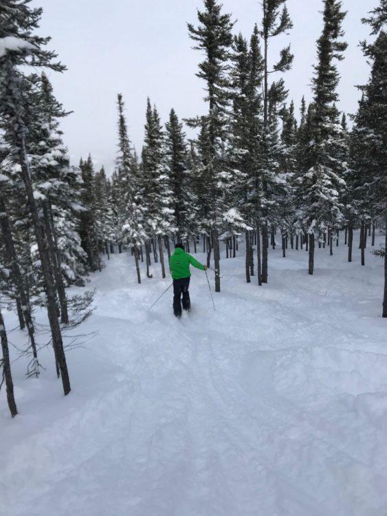 Jour 3 du Safari-ski Gendron au Québec: Mont Édouard le 17 février
