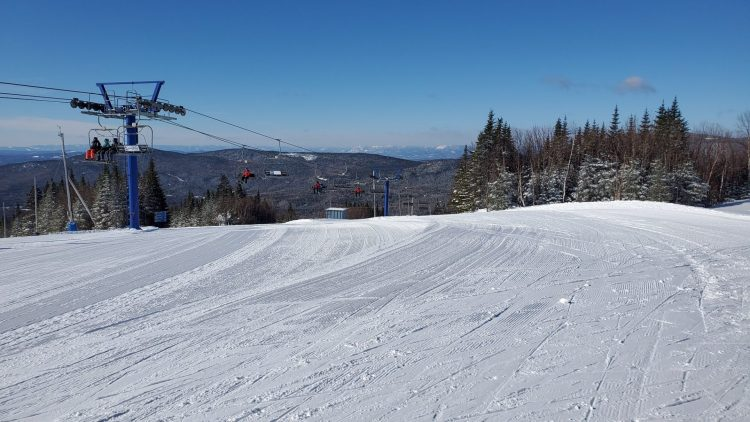 Jour 4 du Safari-ski Gendron au Québec: Mont Grand-Fonds le 18 février