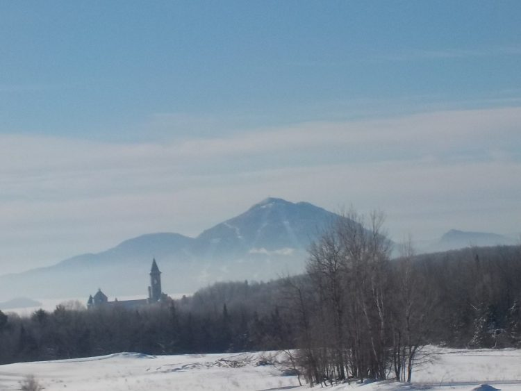 Mont Owl's Head – Lundi le 1er février – Il fait moins 20 degrés, la montagne m'appelle.