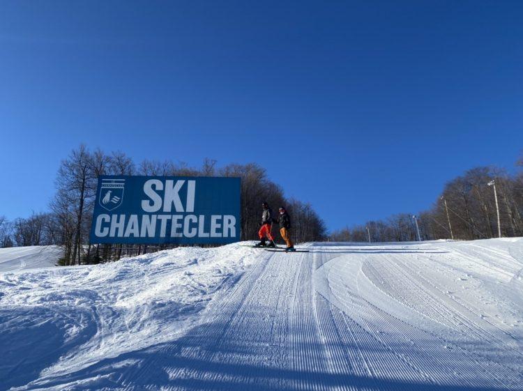 Découverte du Mont Chantecler