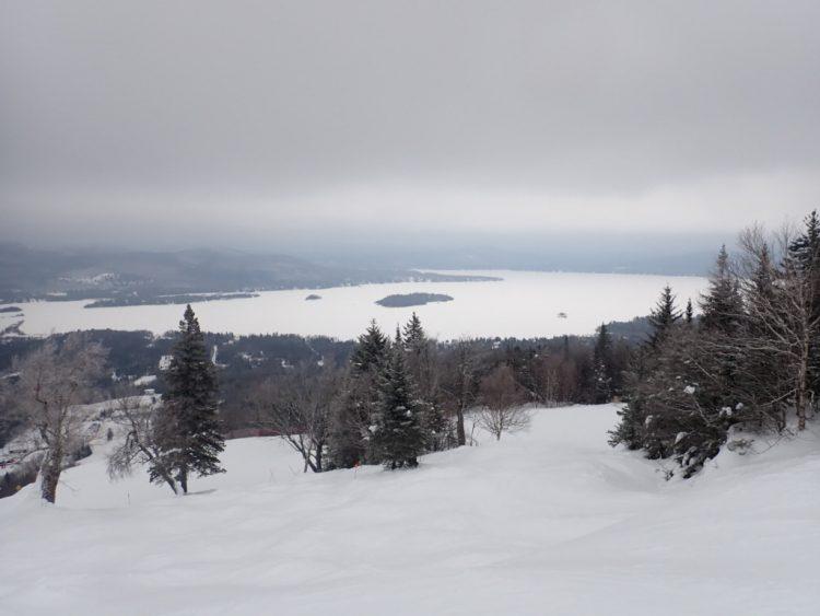 Skier la Réserve en deux temps
