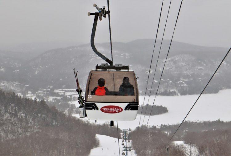 Mont Tremblant, coup de coeur du jour sous la neige, 22 février 2021