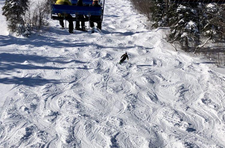 Mont Comi Belle découverte 19 février