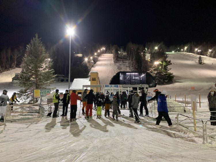 Soirée de ski express au Sommet St-Sauveur