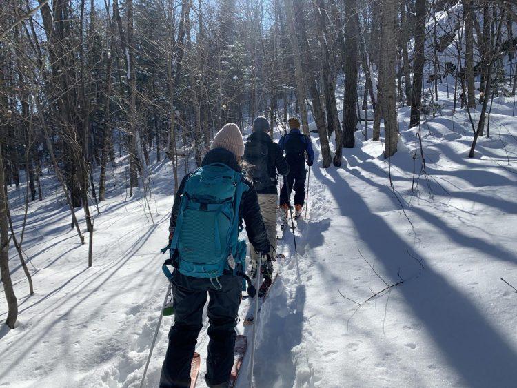 Combo rando alpine et ski alpin au Mont Avalanche
