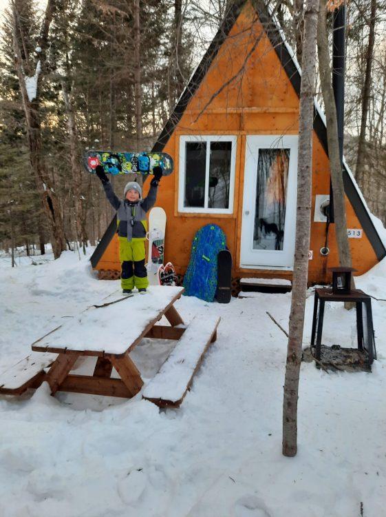 Expérience Boréale – Encore beaucoup de neige! – 13 février 2021