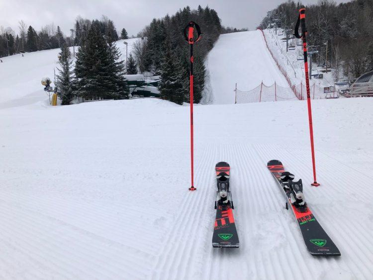 Folie du mardi… en ski ! – Sommet St-Sauveur