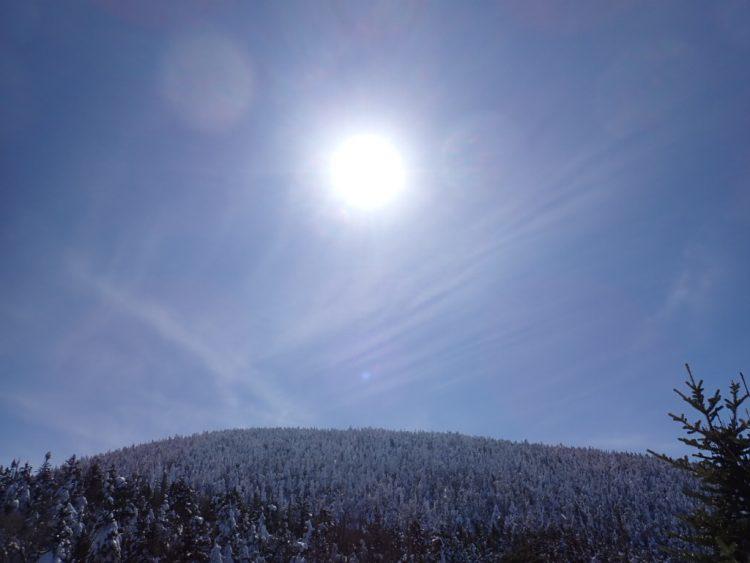 Journée d'hiver printanière