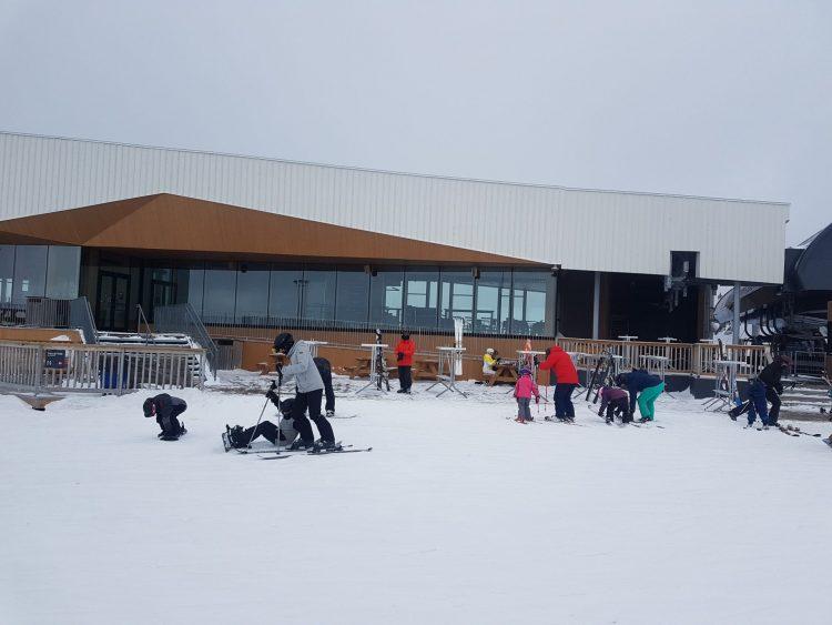 Ski Bromont — 3 mars 2021 — Une légère poudreuse ( 7 cm) est tombée