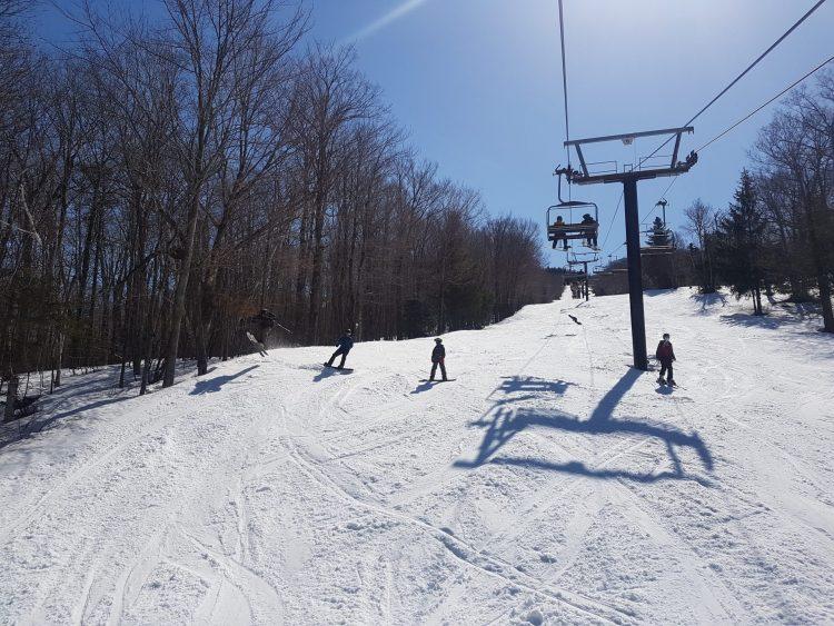 Purement Sutton pour du ski de printemps ! — Mardi le 23 mars 2021