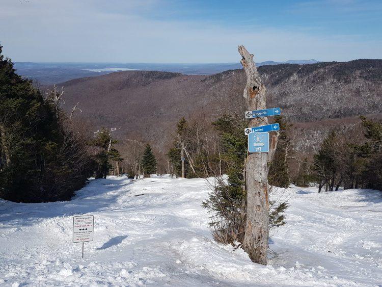 Ski au mont Sutton en ce mardi 30 mars — Il fait 13 degrés celcius !