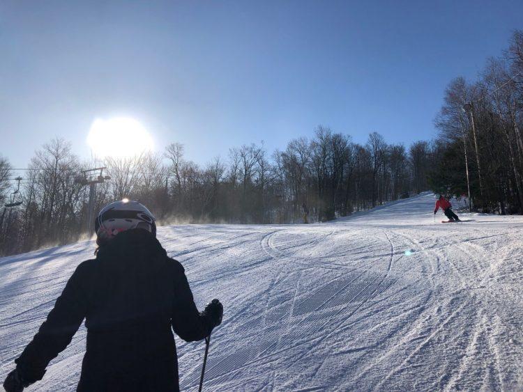 Une dernière journée d'hiver au Sommet St-Sauveur