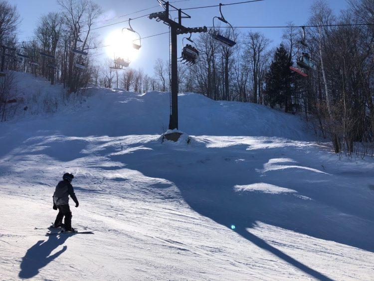 Journée familiale à Ski Montcalm