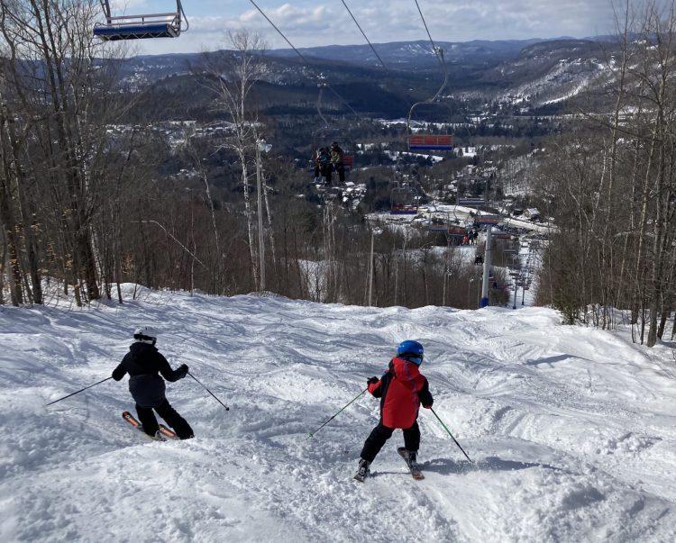 Du ski comme au printemps à Sommet Olympia