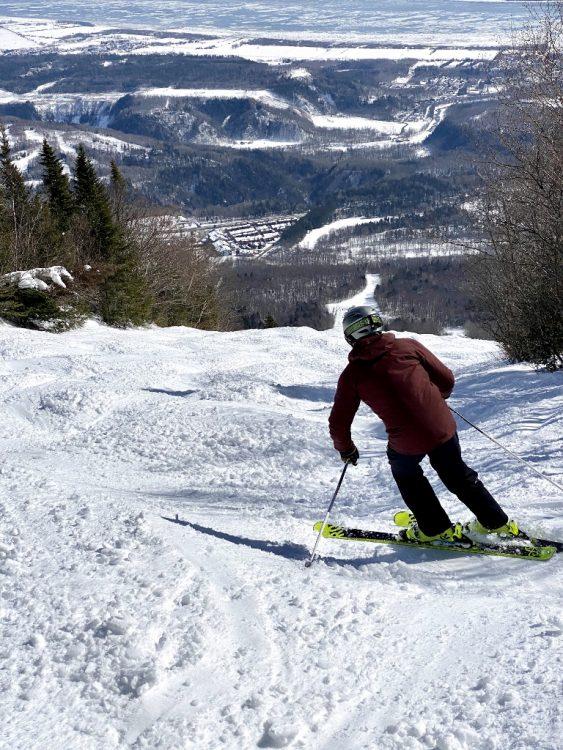 Mont Saint-Anne Douceur Printanière 10 Mars