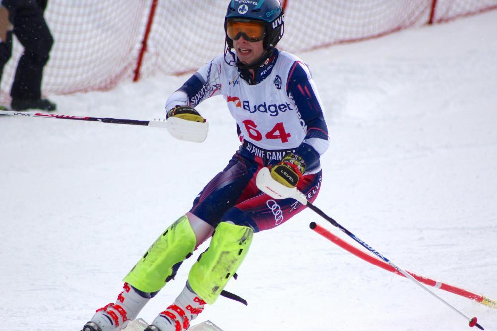 Guillaume Delmas-Frenette équipe Québec Alpin